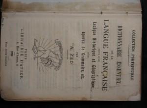 náhled knihy - Dictionnaire essentiel de la Langue Francaise suivi d´un Lexique Historique et Géographique (A6, Ocpl, 732 s.)