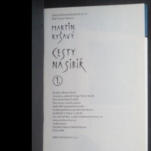 antikvární kniha Cesty na Sibiř. 1. a 2. díl (2 svazky, komplet), 2008