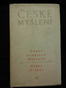 náhled knihy - České myšlení (Ocpl, 272 s.)