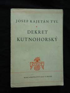 náhled knihy - Dekret kutnohorský (Obr, 205 s.)