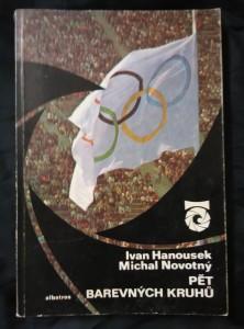 náhled knihy - Pět barevných kruhů - Olympijské hry (Obr, 120 s. textu,  čb foto, bar fotopříl.)