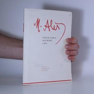 náhled knihy - M. Aleš: Výbor z díla