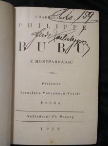 náhled knihy - Bubu z Montparnassu (Oppl, 95 s.)