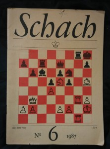 náhled knihy - Schach 6/87