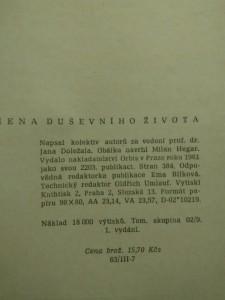 Hygiena duševního života (Obr, 382 s.)