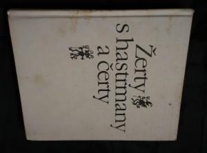 náhled knihy - Žerty s hastrmany a čerty (Ocpl, 224 s., il. F. Skála)