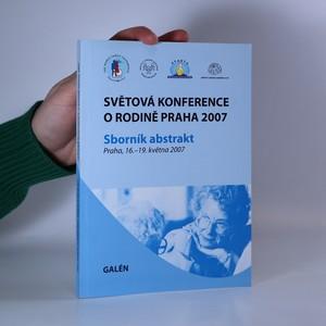 náhled knihy - Světová konference o rodině Praha 2007