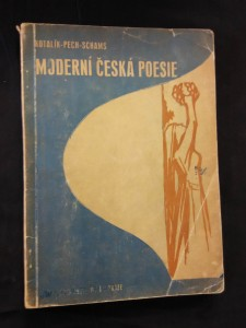 náhled knihy - Moderní česká poesie - výbor pro osmou třídu středních škol (Obr, 171 s.)