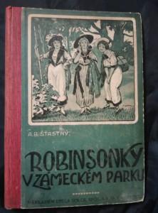 náhled knihy - Robinsonky v zámeckém parku (Oppl, 88 s.ú