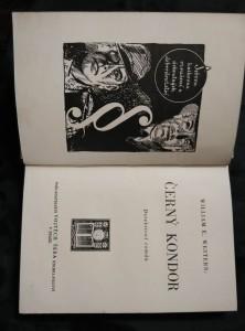 náhled knihy - Černý kondor (Ocpl, 204 s.)