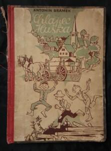 náhled knihy - Chlapec Huška a ti druzí (Oppl, 128 s., il. Josef Novák)