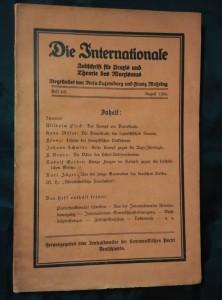 náhled knihy - Die Internationale - Zeitschrift für Praxis und Theorie des Marxismus 4-5/1936 (Obr, 104 s.)