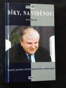 náhled knihy - Díky, na viděnou - politika očima moderátora (lam, 106 s.)