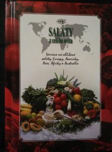 náhled knihy - Saláty z celého světa (A6, lam, 40 s., bar foto)