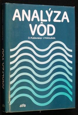 náhled knihy - Analýza vod