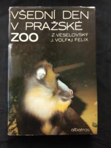 náhled knihy - Všední den v pražské ZOO (A4, Ocpl, 160 s., foto aut.)