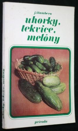 náhled knihy - Uhorky, tekvice, melóny