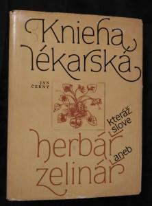 náhled knihy - Knieha lékarská, kteráž slove herbář aneb zelinář