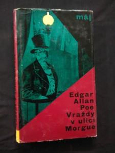 náhled knihy - Vraždy v ulici Morgue (Ocpl, 176 s., dosl. J. Škvorecký, koláže V. Sivko)
