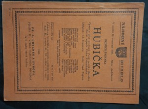 náhled knihy - Hubička (libreto)