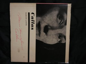 Maria Callas - s gramodeskou (Obr, 76 s., foto Hauer, Hiro, Tursi, Piccagliani, diskografie)