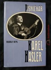 náhled knihy - Písničkář Karel Hašler (obr, 234 s., il. J Procházka)