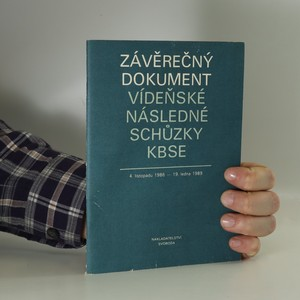 náhled knihy - Závěrečný dokument vídeňské následné schůzky KBSE