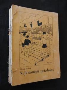 náhled knihy - Nejkrásnější prázdniny (Oppl, 192 s., il. J. Košvanec)
