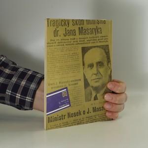 antikvární kniha Proč zemřel Jan Masaryk?, 1990