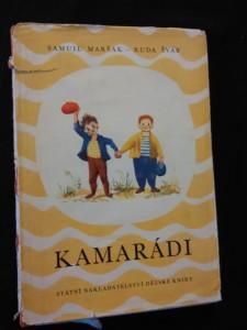 náhled knihy - Kamarádi (Oppl, 126 s., il. R. Šváb)
