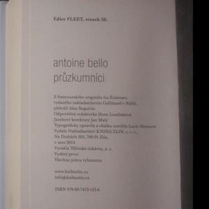 antikvární kniha Průzkumníci, 2014