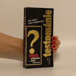náhled knihy - Testománie
