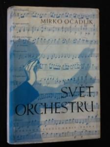 náhled knihy - Svět orchestru - Průvodce tvorbou orchestrální - Klasikové a romantikové (Oppl, 424 s,, dedikace autora)