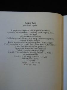 antikvární kniha 5000 večerů v opeře (memoáry ředitele Metropolitní opery), 1989