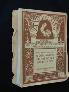 náhled knihy - Tvůrčí rozvoj Bedřicha Smetany I. - Preludium k životnímu dílu (Obr, 182 s.)