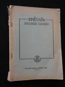náhled knihy - Zpěvník sokolského táborníka (Obr, 56 s., kopie)