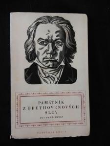 náhled knihy - Památník z Beethovenových slov (ob. + graf. úprava C. Bouda)