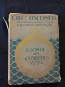 náhled knihy - Die Musik - band XVIII - Richard Backa - Die Musik in Böhmen (pv, 100 s.)
