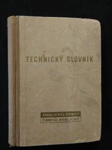 Technický slovník anglicko-český a česko-anglický (Škodovy závody pro montéry)