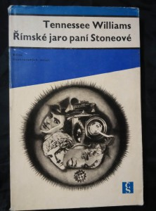 náhled knihy - Římské jaro paní Stoneové (Ocpl,136 s., il. P. Brom, ob a typo Z. Seydl, dosl. J. Škvorecký)