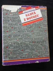 náhled knihy - Slová z dovozu (význ. a původ ciz. slov)