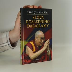 náhled knihy - Slova posledního dalajlamy