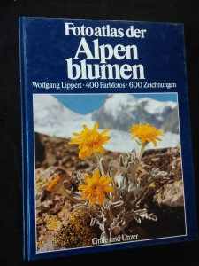 náhled knihy - Fotoatlas der Alpen Blumen (A4, lam., 260 s., 400 Farbfotos)