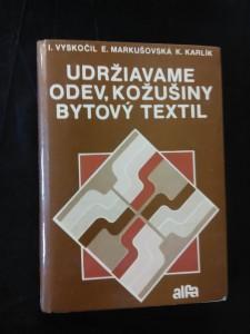 náhled knihy - Udržiavame odev, kožušiny, bytový textil