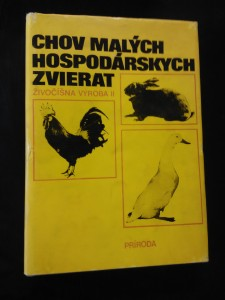 náhled knihy - Chov malých hospodárskych zvierat, Živočíšna výroba II (A4, Ocpl, 224 s., il., foto, tab.)