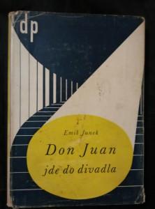 náhled knihy - Don Juan jde do divadla (Oppl, 174 s., ob. J. Šváb, vaz. E. Herout)