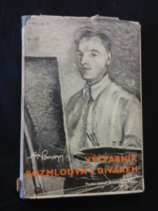 náhled knihy - Výtvarník rozmlouvá s divákem (ob a il. autor)