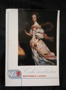 náhled knihy - České malířství - Manýrismus a barok (18 s textu, 15 reprofoto)