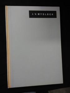 náhled knihy - Josef Václav Myslbek (A4, Oppl, 32 s., 29 obr příl.)