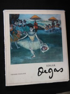 náhled knihy - Edgar Degas (Ocpl, 39 s., + obr.příl.)